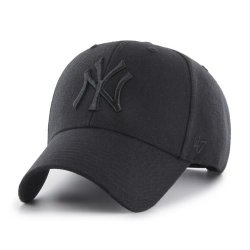 NY Yankees Original Black/Black MVP Adjustable Cap