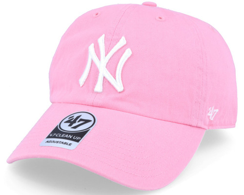 NY Yankees Pink Clean Up Adjustable Cap