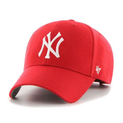 NY Yankees Original Red MVP Adjustable Cap