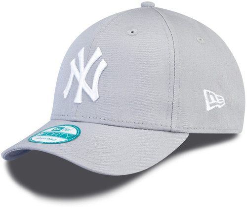 NY Yankees Light Gray Nine Forty Adjustable Cap