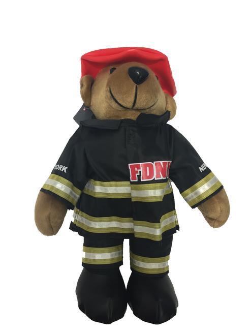 FDNY Fireman Stuffed Animal
