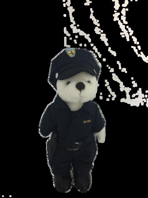 Plush American Hero Police Man