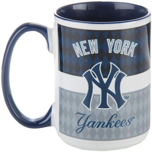New York Yankees Striped Mug