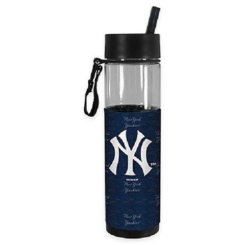 NY Yankees Slim Straw Tumbler