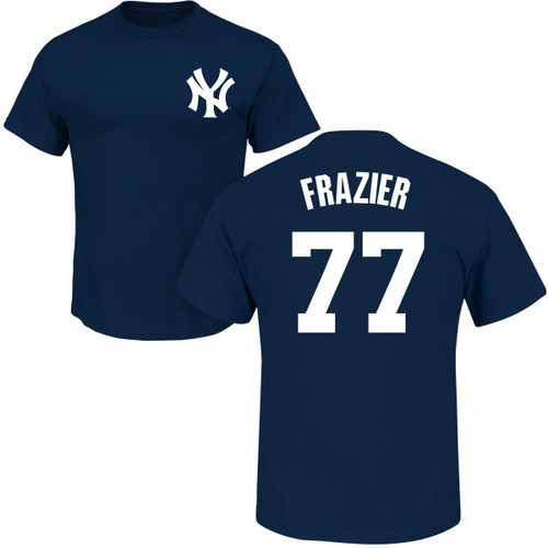 Clint Frazier Youth T-Shirt - Navy NY Yankees Kids T-Shirt