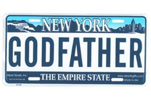 Godfather NY License Plate