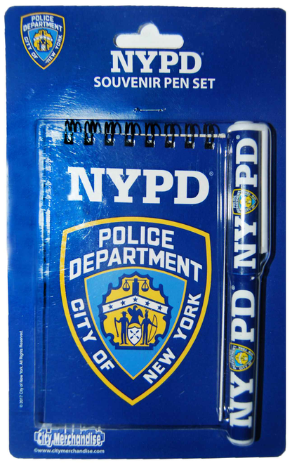 NYPD Blue Notepad and Pen Set