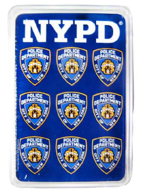 NYPD Blue Playing Cards Set