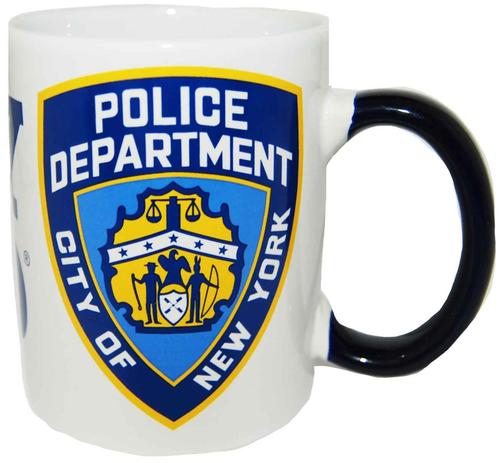 NYPD/ Logo 11oz White Mug