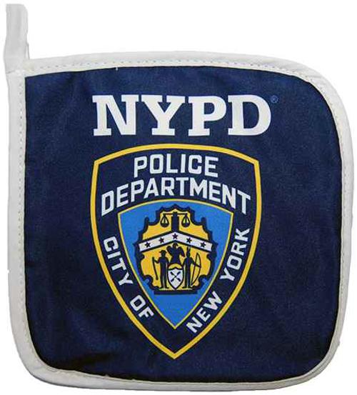 NYPD Blue Pot Holder