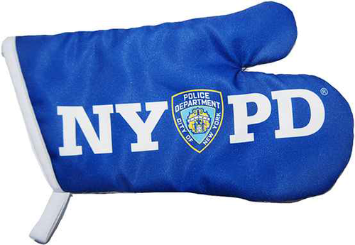 NYPD Blue Oven Mitten