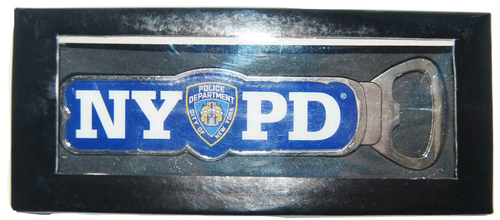 NYPD Blue Bottle Opener in Box