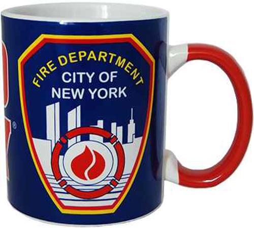 FDNY Blue/ Shields 11oz Mug