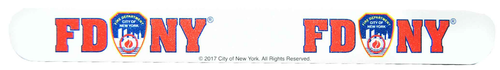 "FDNY White/ Logo 7"" Nail File"