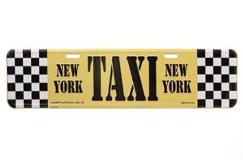 Taxi Street Sign