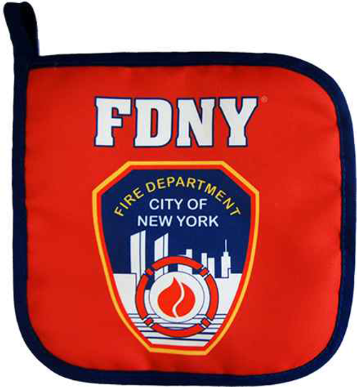 FDNY Red/Blue Piping Pot Holder