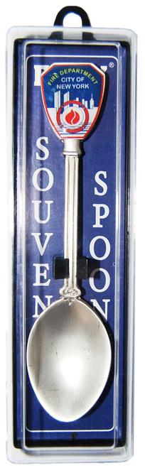 FDNY Silver Pewter Souvenir Spoon