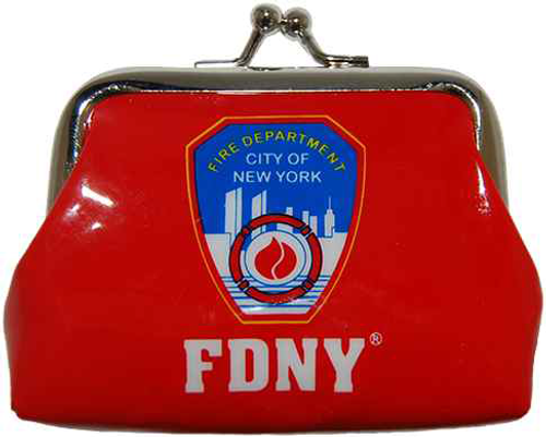 FDNY Red Logo Coin Purse