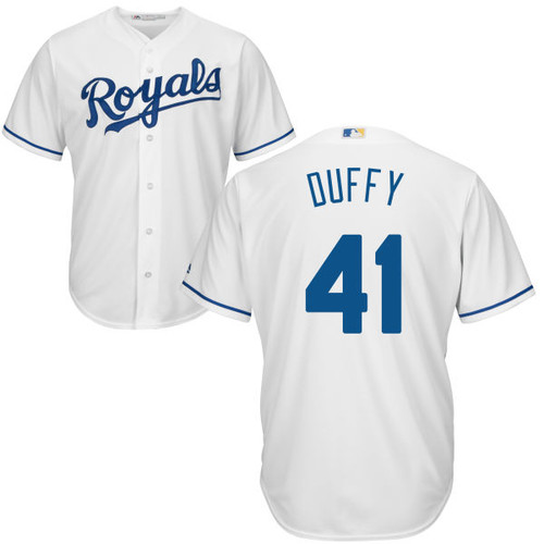 Danny Duffy Youth Jersey - Kansas City Royals Replica Kids Home Jersey