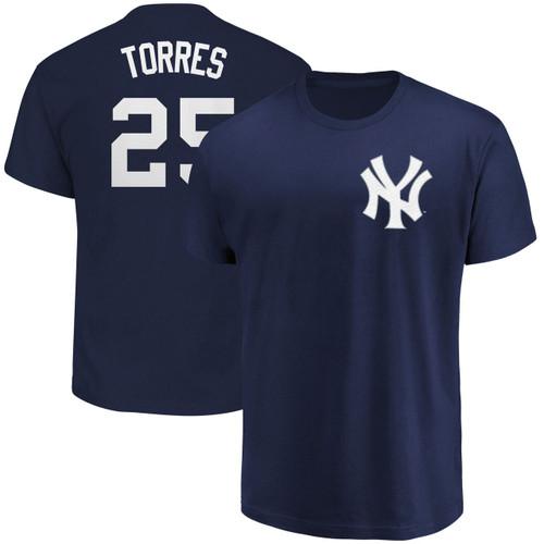 Gleyber Torres Youth T-Shirt - Navy NY Yankees Kids T-Shirt