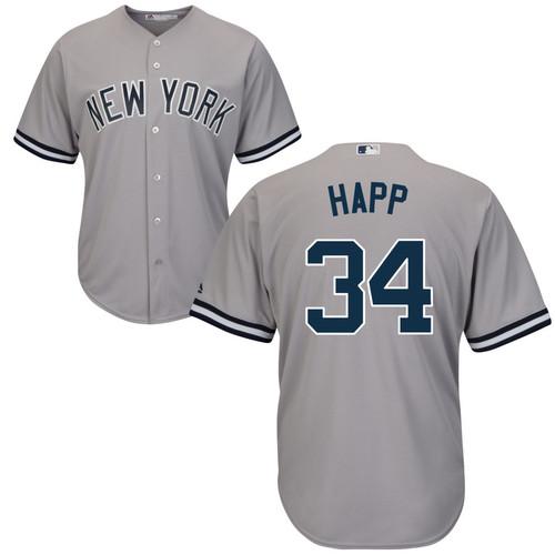 J.A. HAPP Jersey - NY Yankees Replica Adult Road Jersey