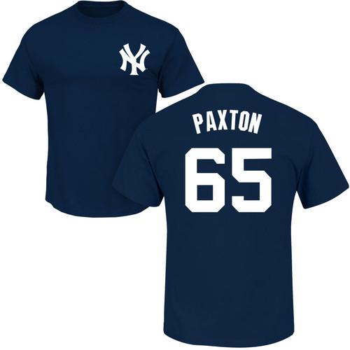 James Paxton Youth T-Shirt - Navy NY Yankees Kids T-Shirt