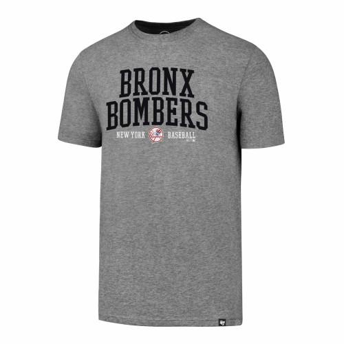 NY Yankees Bronx Bombers Grey T-Shirt