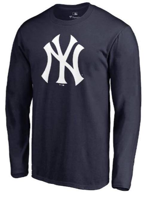 NY Yankees Big Logo Dri-Fit LS T-Shirt