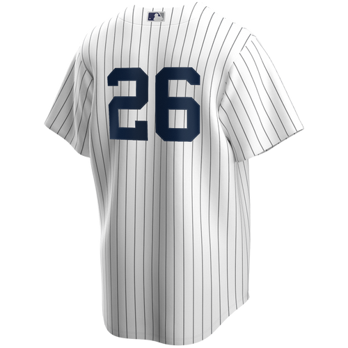 DJ Lemahieu Youth No Name Jersey - NY Yankees Kids Number Only Home Jersey