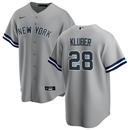 Corey Kluber Youth Jersey - NY Yankees Replica Kids Road Jersey