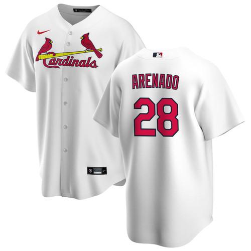 Nolan Arenado Youth Jersey - St Louis Cardinals Replica Kids Home Jersey