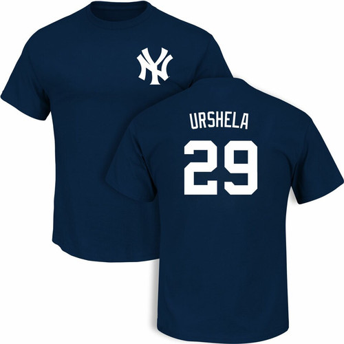 Yankees Gio Urshela Name and Number Mens Tee