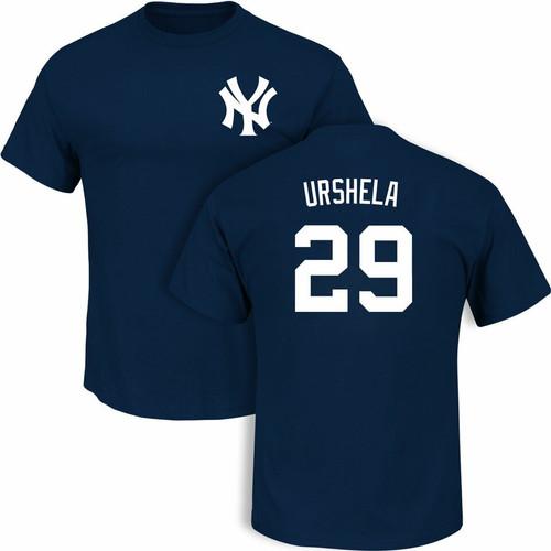 Yankees Gio Urshela Name and Number Youth Tee