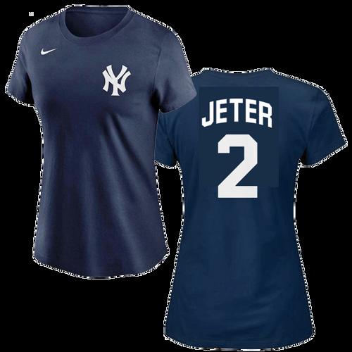 Derek Jeter Ladies T-Shirt - NY Yankees Fashion Women's Tee