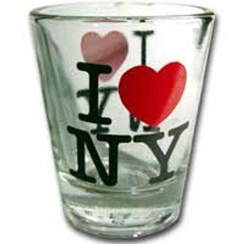 I Love NY Glass Shotglass