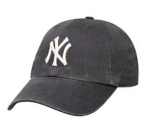 "Yankees Navy ""Franchise"" Fitted Cap"