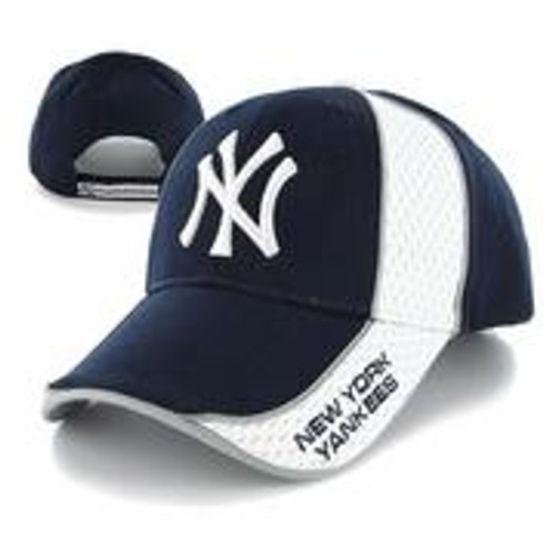 "Yankees ""Aftermath"" Navy/White Adjustable Cap"