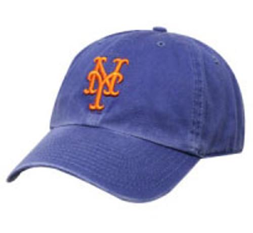 "New York Mets Royal ""Cleanup"" Adjustable Cap"