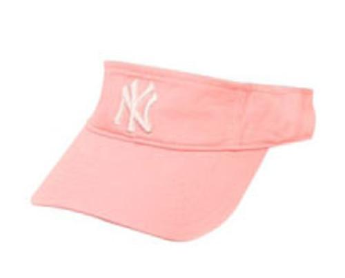 Yankees Pink Adjustable Visor