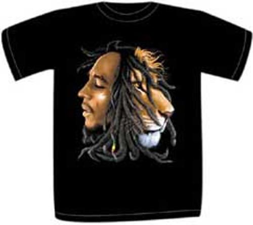Bob Marley Profiles Mens Tee
