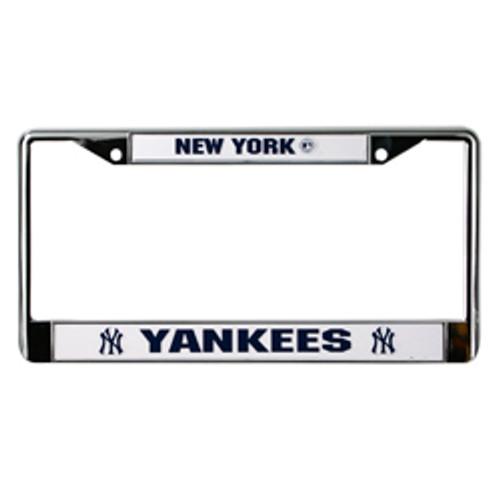 Yankees Metal License Plate Frame