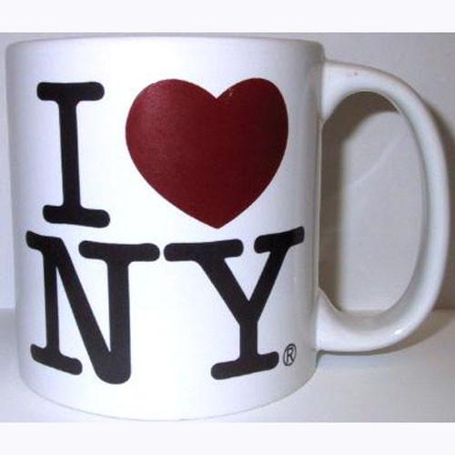 I Love NY White 20oz. Mug