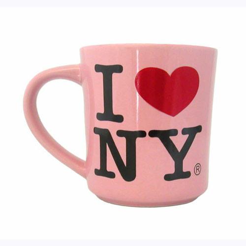 I Love NY Pink 11oz. Mug