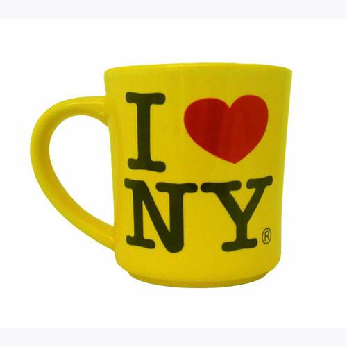 I Love NY Yellow 11oz. Mug