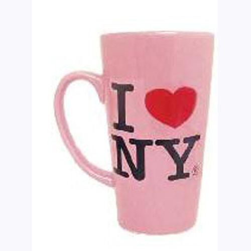 I Love NY Pink Java Mug