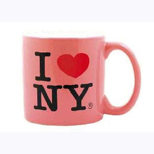 I Love NY Pink 20oz. Mug