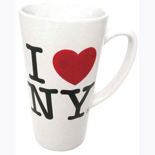 I Love NY White Java Mug