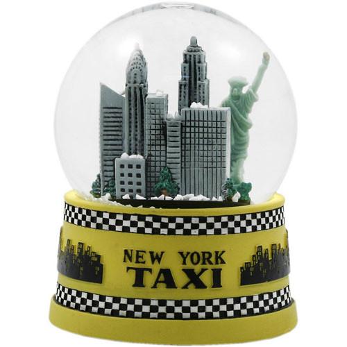NYC Taxi 65mm Snowglobe