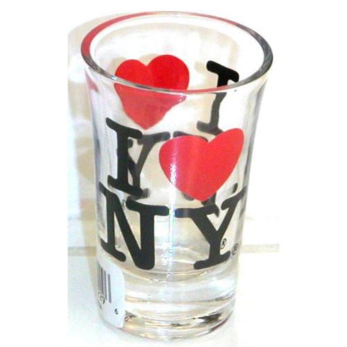 I Love NY Clear Shot Glass
