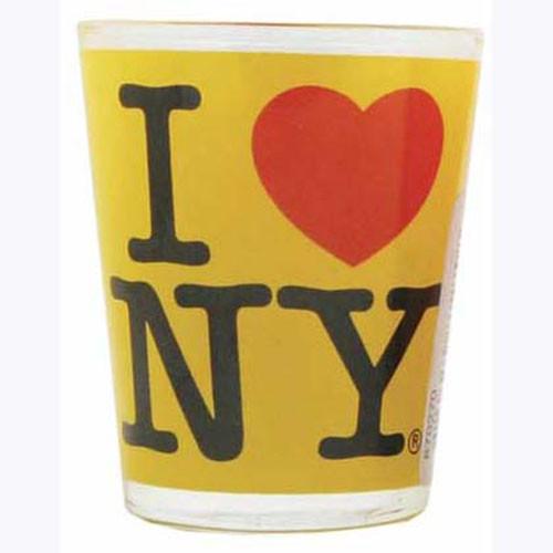 I Love NY Yellow Shot Glass